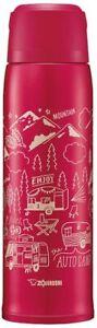 Zojirushi water bottle stainless steel bottle 1.0L red SJ-JS10-RA F/S