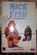 Mark Rylance Signed Nice Fish Theatre Programme The BFG & Bridge Of Spies PROOF