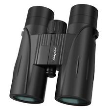 ASAPGOT 8x42 Binoculars BAK4 Prism Multi-coated Lens Compact Telescope HD Black