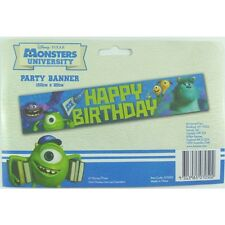 Disney Monsters University Inc Birthday Party Decorations Banner