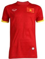 100% Authentic Original Vietnam National Football Soccer Team Jersey Shirt Red