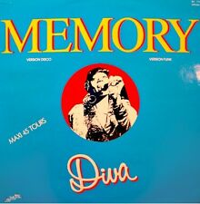 DIVA memory (versions Funk & Disco) MAXI PROMO 1983 IN THE MIX EX++