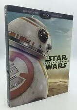 Star Wars: The Force Awakens (Blu-ray+DVD+Digital, 2016) NEW w/ BB-8 Slipcover