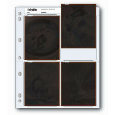 50x PRINT FILE 4 x 5 Negative Pages Sleeves Film Archival Preservers 45-4B i