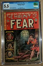 EC Comics The Haunt of Fear #22 FN- CGC 5.5 Pre-Code Horror Original 1953