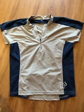 Fox Cycling Jersey Womens Small Half Zip