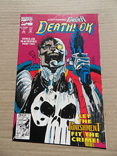 Deathlok 7 . Punisher X-Over - Marvel 1992 - VF