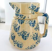 .SUPERB / QUALITY / VINTAGE / CERAMIC MOTLEY ELECTRIC KETTLE. UNKNOWN BRAND !!