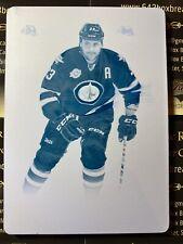 Dustin Byfuglien 11-12 Dominion Hockey Printing Plate S/N 1/1 1 of 1 Jets