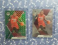 Kendrick Nunn ROOKIE 2019-20 Panini Green Mosaic + BASE !   Miami Heat !