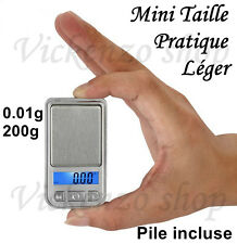 Mini Balance Electronique Portable de Précision 0.01gx200g Bijoux de Poche
