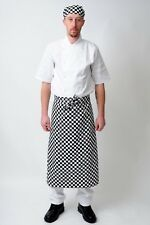 CHECK LONG WAIST APRON CATERING CHEFS WAITERS BAR APRON WAITERS