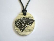 Game Of Thrones Necklace John Snow Arya Stark Cosplay Throne By Spade #2