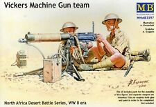 VICEKRS MG TEAM N. AFRICA (4 FIG. W/VICKERS, BREN, BOYS RIFLE) 1/35 MASTERBOX