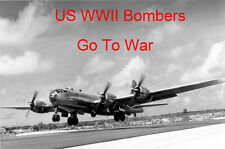 US Bombers Go To War WWII B-17 B-24 B-25 B-29 DVD