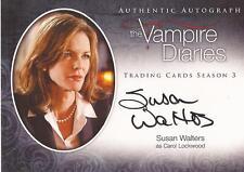 "Vampire Diaries Season 3 - A15 Susan Walters ""Carol Lockwood"" Autograph Card"