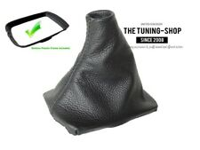 For Volvo V50 04-12 Gear Stick Gaiter Leather with Plastic Frame