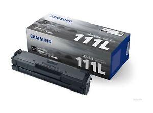 1 x Samsung Black Original OEM Toner Cartridge For MLT-D111L - Next Day Delivery