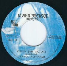 "Errol Alphonso & Yabby You - Chant Jah Victory / Dub - 7"" 45T Roots Reggae ♫"