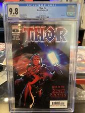 Thor #5 1st print CGC 9.8 1st full appearance Black Winter Donny Cates