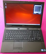FAST! Dell Precision M6600 Intel I7-2620m 2.7-3.4Ghz 8GB ram 500GB W7 AMD M6000