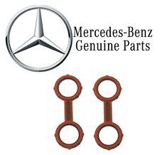For Mercedes W211 W212 E320 Set Of 2 Engine Oil Cooler Seal OM642 Genuine