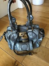 Silver Chloe Bag In Excellent Condition