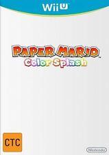 Paper Mario Colour Splash Nintendo Wii U Aust Post