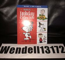 Peanuts Holiday Collection Special Edition Blu Ray + Dvd + Digital Charlie Brown
