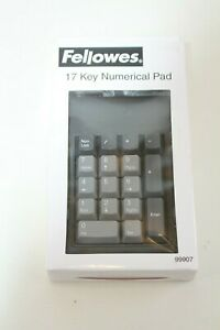 Fellowes 17 Key Num Pad Number Pad PS2 PS/2