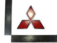 MITSUBISHI RED LANCER PAJERO SHOGUN COLT LOGO EMBLEMS BADGE DECALS PLATE STICKER