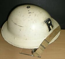WW-II British ARP/ Senior Rescue MK-II Steel Helmet & Chinstrap Dated 1939