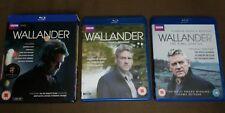 Wallander: Complete Series 1, 2, 3, 4 Blu-ray Collection UK Edition Region B