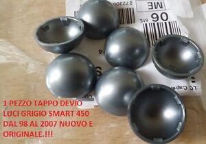 2PZ TAPPO DEVIO LUCI GRIGIO AUTO SMART FORTWO 450  ANNO 98/2007 ORIGINALE SMART