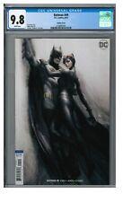Batman #49 (2018) Stanley Artgerm Lau Variant Cover CGC 9.8 White Pages GG357
