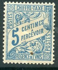 STAMP / TIMBRE COLONIES FRANCAISES TUNISIE TAXE NEUF N° 28 *