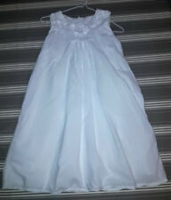 robe blanche brodée 10 ans 12 ans