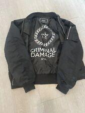 Criminal Damage Factory Tracksuit Black//Multi