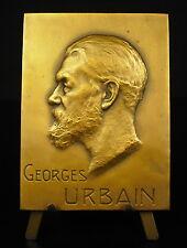 Médaille Georges Urbain Terres rares earth metals celtium scandium 1938 Medal