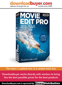 MAGIX Movie Edit Pro 2016 Plus - [Boxed]
