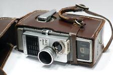 Bell & Howell Autoset II 8mm Clockwork Wind-Up Cine Movie camera 10mm f/1.9 Lens