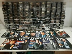 James Bond Die Cast Car Collection Cars No 1 to 133 New Cars Added Updated List