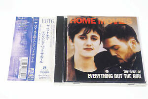 HOME MOVIES THE BEST OF EVERYTHING BUT THE GIRL TFCK-88856 CD JAPAN OBI A12371