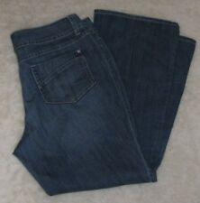 Ana Modern Fit Size 16 Petite Medium Wash Denim Cotton Stretch Jeans