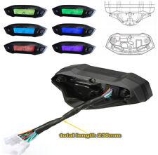 1 PC Moto Universal 12V Digital Speedometer Gauge Backlight 1 2 4 Cylinders  New