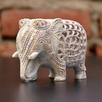 Handmade Lucy Baby Elephant Sculptures, Animal Figurine/Statue Stone Showpiece