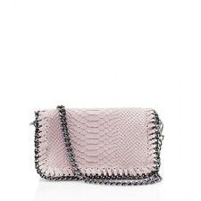 Ladies Snakeskin Leather Cross Body Bag Shoulder handbags Girls Clutches Handbag