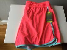 Tek Gear Women's Beach Coral Wicking Running Shorts XL NWT