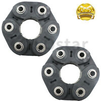 Pair(2) Front or Rear Driveshaft Flex Disc Fits BMW E60 E63 E64 F01 F02 F06 NEW