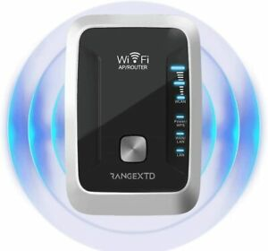 RangeXTD Wifi Range Extender - 300 Mbps - WPS Push Button - X3 Signal Strength